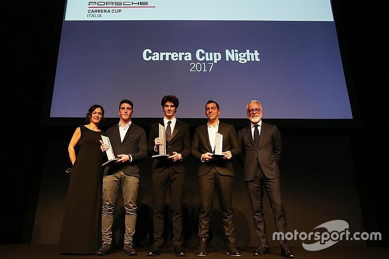 Carrera Cup Night: premiati a Milano i campioni tricolori 2017