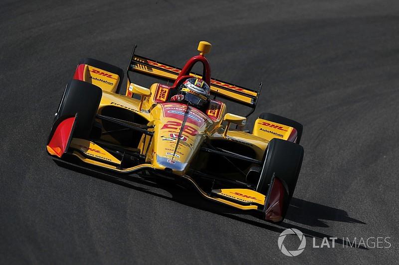 Andretti Autosport dominates IndyCar test at Iowa