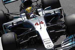 Hamilton, 2018 yılında #1'i kullanmayacak