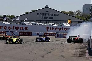 IndyCar Race report IndyCar St.Petersburg: Dramatis di akhir, Bourdais menang