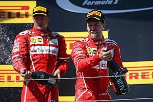 F1 比赛报告 匈牙利大奖赛:维特尔保住胜利果实,法拉利包揽前二