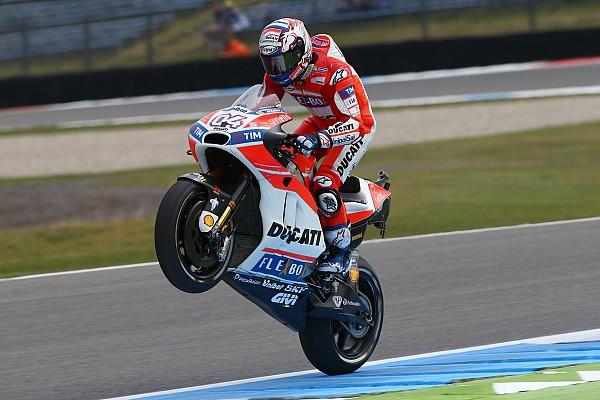 MotoGP Demi gelar juara dunia, Dovizioso lupakan hat-trick di Assen
