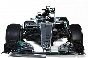 F1 Top List El Mercedes W08 2017 frente al W07 de 2016