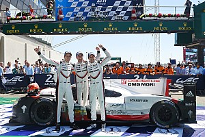 "Le Mans Breaking news Porsche #2 ""risked it all"" in winning Le Mans comeback"