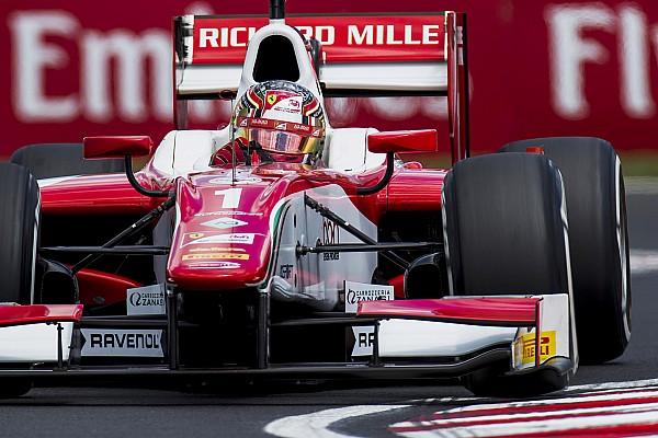 F2 Hungaroring: Leclerc moet record-pole inleveren