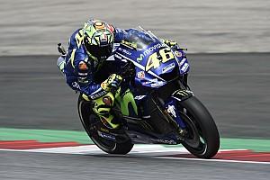 MotoGP Son dakika Rossi ve Vinales lastik problemi yaşamışlar