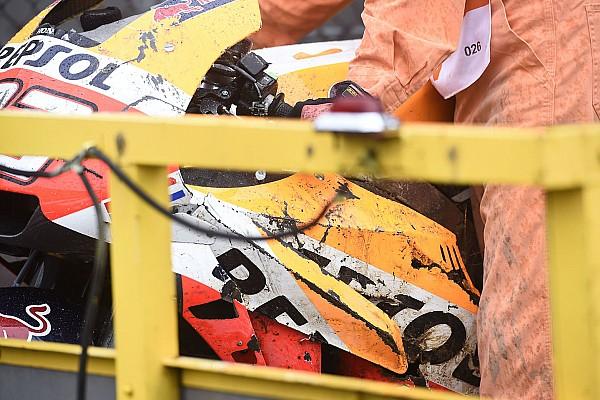 VIDEO: Kecelakaan Marquez di FP2 Motegi