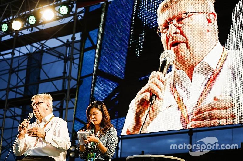 Brawn está equivocado sobre un potencial movimiento eléctrico de la F1, dice Agag