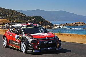 WRC Laporan leg WRC Korsika: Meeke jaga keunggulan tipis di depan Ogier