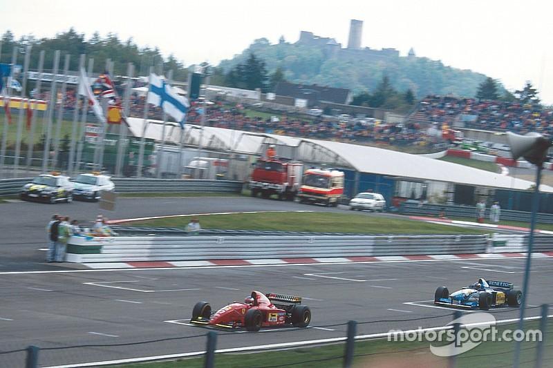 Ретро-відео: знаменита атака Шумахера на Алезі на Гран Прі Європи — 1995
