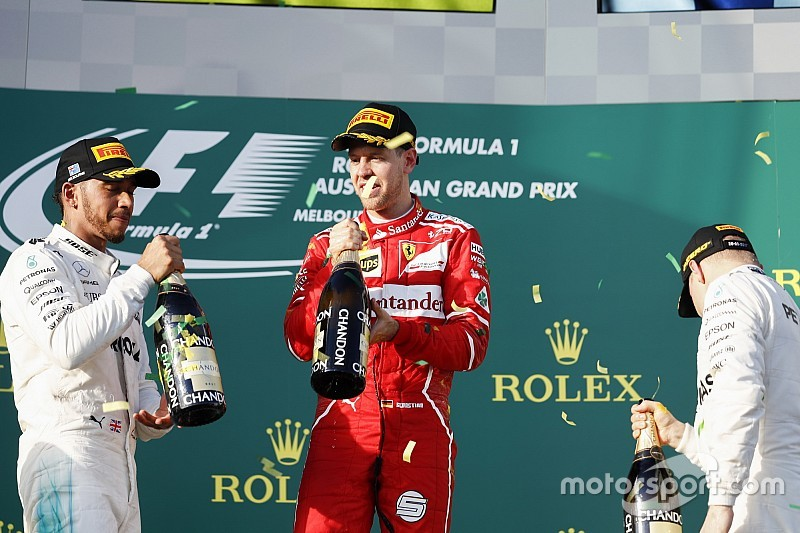"""Hamilton confía en que la lucha con Vettel no sea """"estratégica"""""""