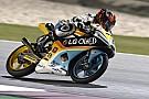 Moto3 Gabi Rodrigo se fractura la clavícula en el primer libre del año