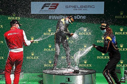 Red Bull Ring F3: Piastri gana tras el drama de la primera curva