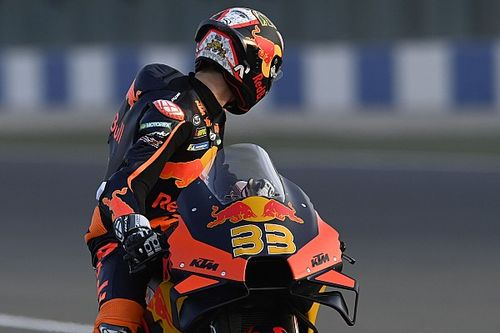 "KTM's Qatar pace makes Binder ""sick to my stomach"""