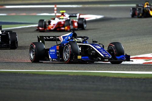 Чжоу завершил красивой победой уик-энд Формулы 2 в Бахрейне