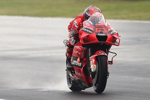 Francesco Bagnaia Ingin Manfaatkan Kelemahan Yamaha di Trek Basah