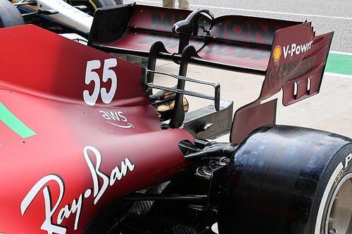 Así fueron las mejoras de los coches de F1 en Austin