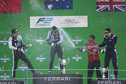 Piastri vence a Zhou en el domingo de la F2 en Monza