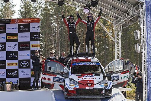 Evans logra un triunfo importante en el Rally de Finlandia