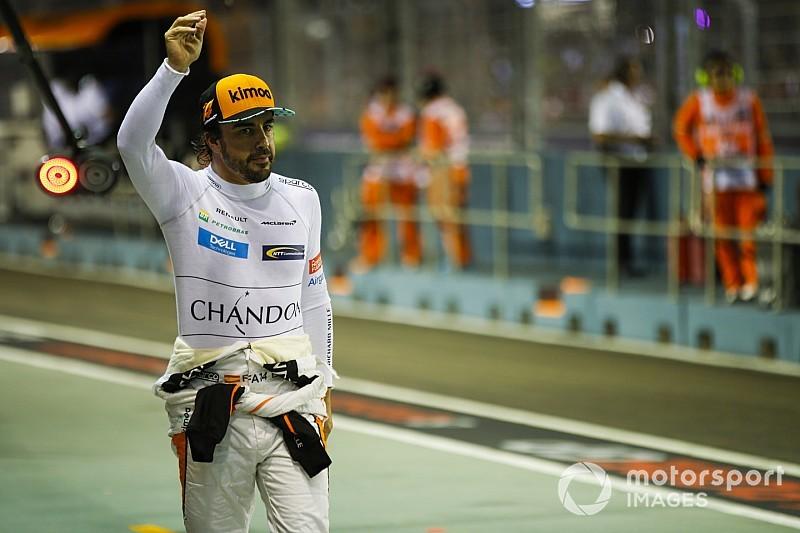 Alonso nem pihen, Szingapúrból a Toyota főhadiszállására ment