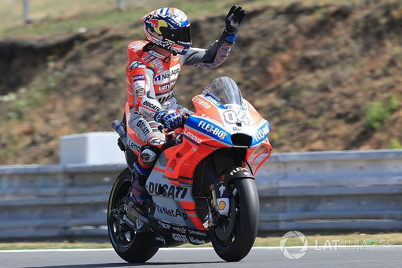 MotoGP Brünn: Dovizioso vor Rossi auf Pole