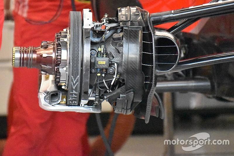 Ferrari: massimo raffreddamento dei dischi sulla pista dove si sta di più sul freno!