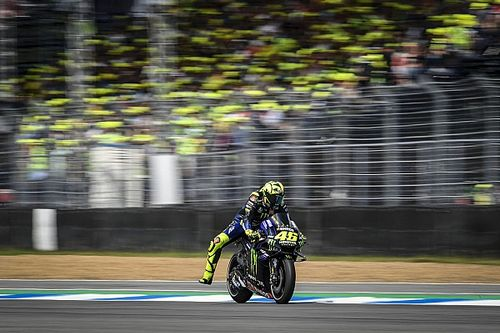 """Rossi: """"Very similar"""" race frustrating after warm-up boost"""