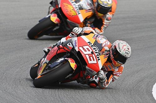 MotoGPドイツFP1:マルク・マルケス、得意ドイツで久々トップタイム。中上貴晶3番手