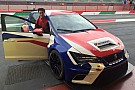 Giulio Tommasin prova al Mugello la Leon della BF Motorsport