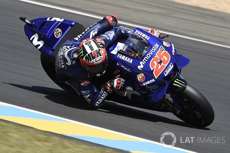 Tes MotoGP Catalunya: Vinales tercepat, Rossi kedelapan
