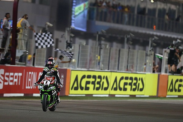 World Superbike Race report WorldSBK Qatar: Rea pecahkan rekor poin Edwards