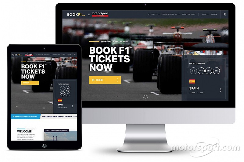 Motorsport Network entra no mercado de ingressos e compra BookF1.com