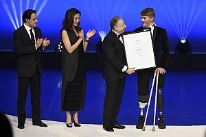 General Diaporama Photos - La FIA honore Hamilton, Ogier, Monger et les autres