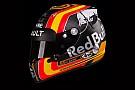 F1 El espectacular casco que Carlos Sainz llevará en Renault
