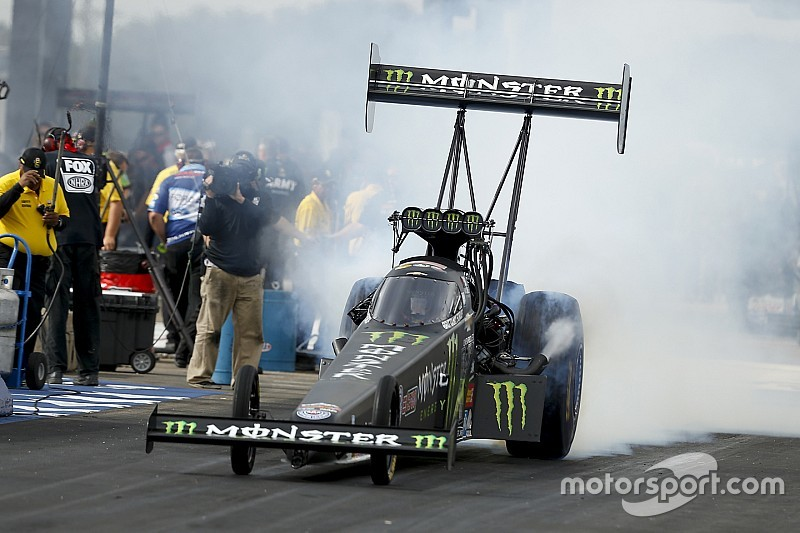 Video: Brittany Force in hospital overnight following crash