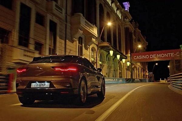 Le Jaguar I-Pace électrise le circuit de Monaco