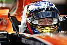 Alonso, 2018 McLaren aracına ilk kez oturdu