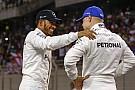 """Hamilton: """"Teljesen más a kapcsolatom Bottasszal, mint Rosberggel"""""""