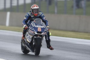 MotoGP Reporte de pruebas Barberá lidera una segunda sesión en Alemania bajo un aguacero