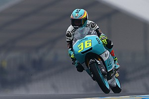【Moto3】フランス決勝:半数以上転倒でレースやり直し。ミル圧勝