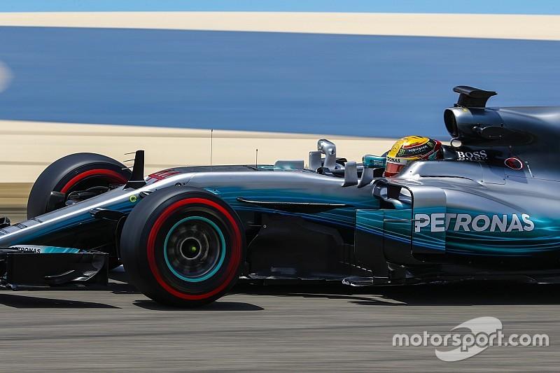 Hamilton lidera dia 1 de teste da F1 no Bahrein; Massa é 5º