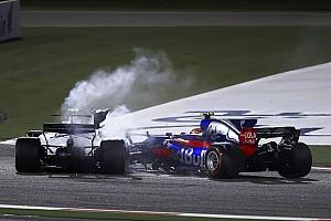 Formula 1 Breaking news Stroll dan Sainz saling menyalahkan atas Insiden di GP Bahrain