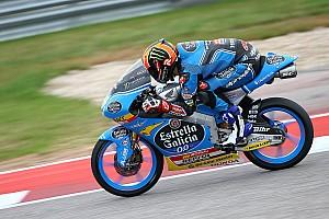 Moto3 Verslag vrije training Warm-up: Canet onderstreept favorietenrol voor Amerikaanse GP