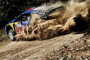 WRC Noticias de última hora Ogier escapa ileso tras chocar con un árbol durante un test