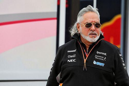 Mallya, arrestado por posible lavado de dinero a través de Force India