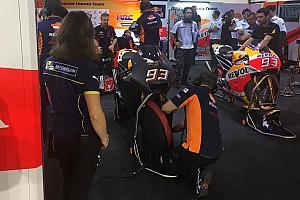 MotoGP Ultime notizie Test Qatar, Day 3: la Honda prova una nuova carena, ma senza ali