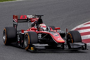 FIA F2 Testing report McLaren junior Matsushita tops first day of F2 testing