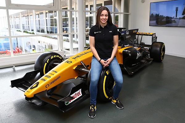 Формула 1 Новость Испанская картингистка стала участницей молодежной программы Renault