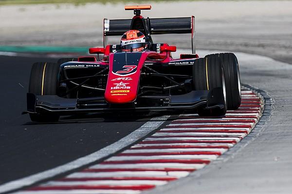 GP3 Noticias de última hora Russell lidera el primer día de test de la GP3 en Hungría