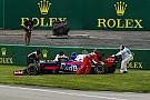 Sainz explicó que el incidente con Magnussen fue una confusión